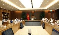 Deputi PM Vu Duc Dam Lakukan Sidang Online dengan Provinsi Bac Ninh dan Bac Giang tentang Pencegahan dan Penanggulangan Wabah Covid-19