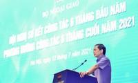 Instansi Diplomatik Merapati Praktik dan Titik Berat Prioritas Pemerintah dan Garis Politik Luar Negeri Vietnam