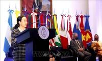Peringatan 54 Tahun Hari Berdirinya ASEAN di Argentina