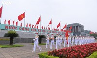 Telegram Ucapan Selamat Sehubungan dengan Peringatan 76 Tahun Nasional Vietnam