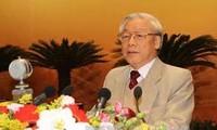 Politbüro tagt über die gesellschaftliche und wirtschaftliche Entwicklung