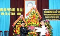 Die buddhistische Glaubenrichtung Hoa Hao feiert ihren 73. Gründungstag