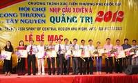 Mehr als 70.000 Menschen besuchen die Handelsmesse in Quang Tri