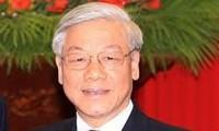 KPV-Generalsekretär empfängt den laotischen Vize-Premierminister