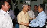 KPV-Generalsekretär Nguyen Phu Trong besucht Nghe An