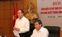 Das Umweltsministerium veranstaltet Konferenz zur Kritik und Selbstkritik