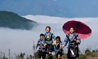 Lebensstärke aus einem Dorf der H'Mong in Sapa