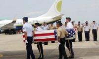 Heimkehr-Veranstaltung der Überreste amerikanischer Soldaten