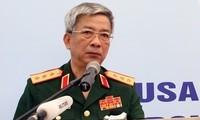 Vertreter des vietnamesischen Verteidigungsministeriums beteiligen sich am Shangri-La-Dialog