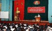 Konferenz über Parteibeschluss beendet