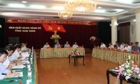 Parlamentspräsident Nguyen Sinh Hung besucht Provinz Nam Dinh