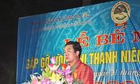Abschluss des Freundschaftstreffens zwischen Jugendlichen Vietnams und Laos