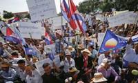 Parteien in Kambodscha streiten weiterhin über Parlamentswahlen