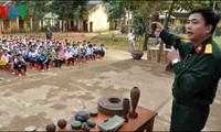 Erziehung zur Minen-Bekämpfung in der Provinz Lang Son