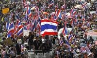 Politische Unruhe in Thailand