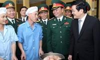 Staatspräsident Truong Tan Sang besucht Provinz Lang Son