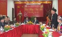 """Staatspräsident Truong Tan Sang beteiligt sich am Fest """"Frühlingsatmosphäre im ganzen Land"""""""