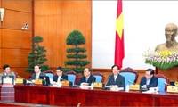 Regierungsmitglieder kommen zur turnusmäßigen Februar-Sitzung zusammen