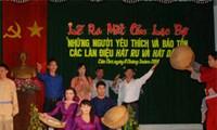 """Klub """"Non ba tam"""", wo folkloristische Lieder aufgebewahrt werden"""