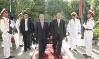 Myanmarischer Parlamentspräsident beginnt offiziellen Besuch in Vietnam