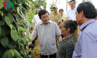 Staatspräsident Truong Tan Sang besucht Provinz Quang Tri
