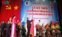 Vize-Premierminister Nguyen Xuan Phuc nimmt an Feier zum 35. Gründungstag der Rechtshochschule Hanoi