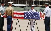 Heimkehr der Überreste der US-Soldaten