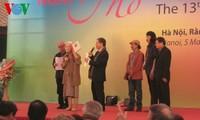 Eröffnung des Tages der vietnamesischen Gedichte