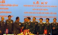 Verstärkung der Zusammenarbeit zwischen den Verteidigungsministerien Vietnams und Kambodschas
