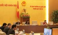Ständiger Ausschuss des Parlaments diskutiert einige Gesetzesentwürfe