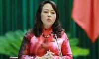 Gesundheitsministerin berichtet über die Genehmigungserteilung der Untersuchungsstellen
