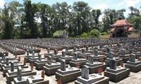 Gedenken an gefallene Soldaten zum 40. Jahrestag der Befreiung Südvietnams