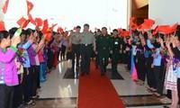 Austauschveranstaltungen an der Grenze zwischen Vietnam und China