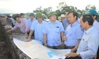Vize-Premierminister Hoang Trung Hai überprüft Maßnahmen gegen Dürre in Quang Tri