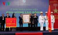 """Staatspräsident verleiht Titel """"Held der Arbeit"""" an Pasteur-Institut von Ho Chi Minh Stadt"""