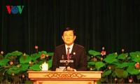 Staatspräsident nimmt an der Konferenz um Patriotismus-Wettbewerb von Ho Chi Minh Stadt