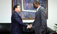 Gespräch zwischen Vietnam und Mosambik