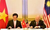 Gemeinsame Erklärung über die strategische Partnerschaft zwischen Vietnam und Malaysia
