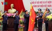 Staatspräsident nimmt an der Feier zum 17. Gründungstag der vietnamesischen Seepolizei teil