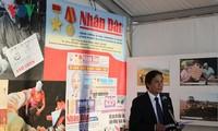 """Die Volkszeitung """"Nhan Dan"""" beteiligt sich am Fest der französischen Zeitung """"l'Humanité"""""""