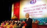 Sitzung der Parteiorganisation der Hauptstadt Hanoi und Provinz Hung Yen eröffnet