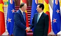 Verstärkung der Beziehungen zwischen Vietnam und Neuseeland