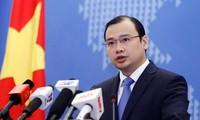Vietnam protestiert entschieden gegen jede Gewaltanwendung gegen vietnamesische Boote und Schiffe