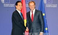 Der Besuch von Premierminister Nguyen Tan Dung in Frankreich, Belgien und bei der EU ist effizient