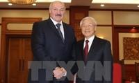 KPV-Generalsekretär Nguyen Phu Trong trifft Weißrusslands Präsident Lukaschenko