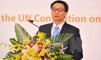 Feier zum 25. Jahrestag der Ratifizierung der UN-Kinderrechtskonvention durch Vietnam