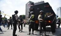 Weltgemeinschaft protestiert gegen Terroranschläge in Jakarta