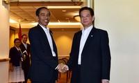 Vietnam und Indonesien bekräftigen die Wichtigkeit der Gewährleistung des Friedens im Ostmeer