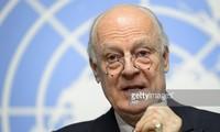 UNO-Sondergesandter für Syrien ist überraschend in Damaskus eingetroffen
