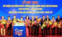 Bedeutende Veranstaltungen zum 85. Gründungstag des Jugendverbands
